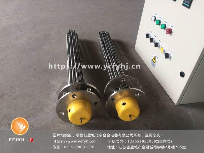 液体电加热管选型-平面法兰电加热管图片